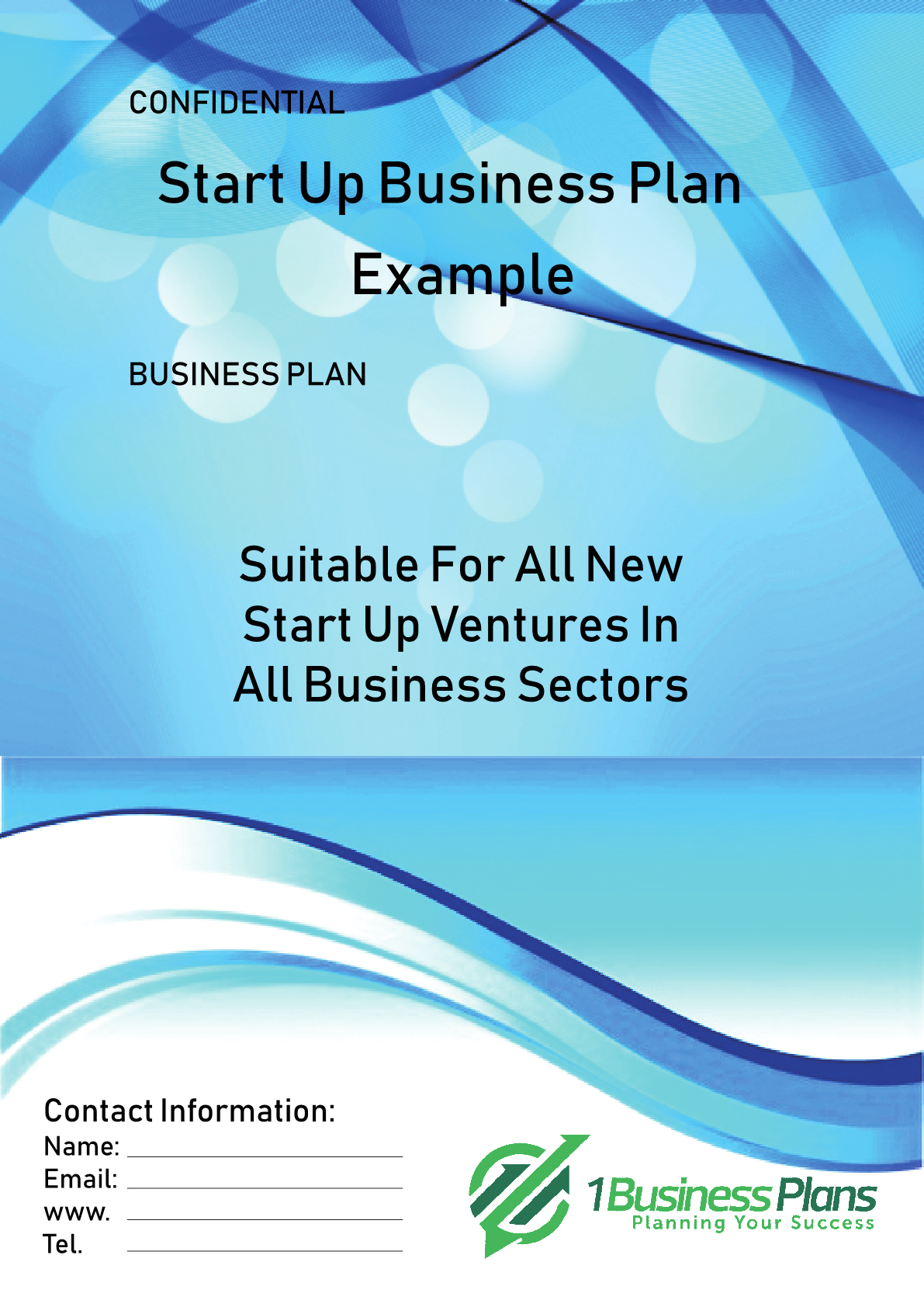 Start Up business plan example