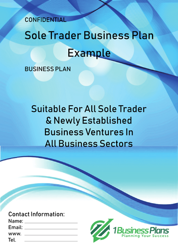 Sole Trader Business Plan Example